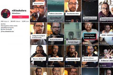 """Screenshot """"Niklas Kolorz auf TikTok"""""""