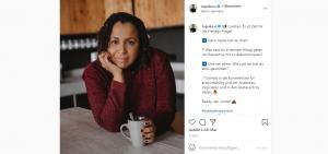 "Screenshot ""Tupoka Ogette auf Instagram"""