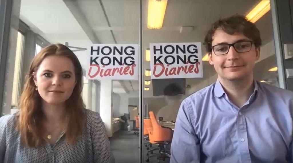"""Leonie von Randow und Jonas Feldt von """"Hong Kong Diaries"""""""
